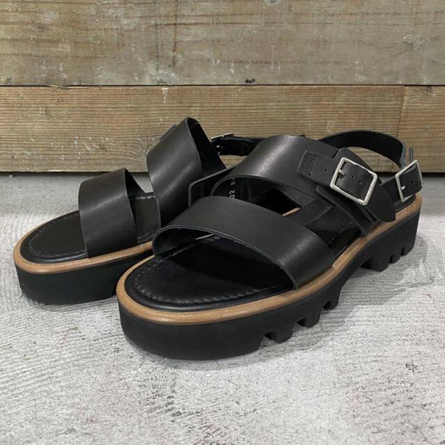 foot the coacher(フットザコーチャー)の20ss 美品 AURALEE foot the coacher サンダル メンズの靴/シューズ(サンダル)の商品写真