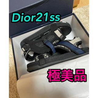 ディオール(Dior)の極美品 正規品 21ss Dior Atlas スポーツ サンダル (サンダル)