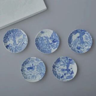 ミナペルホネン(mina perhonen)のミナペルホネン imagine 豆皿 5枚セット(食器)