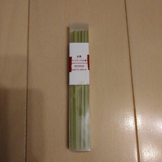 MUJI (無印良品) - 無印 お香 グリーンアップルの香り 15本入