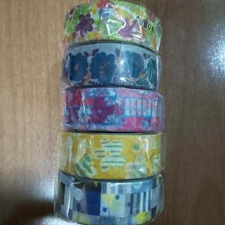 ソウソウ(SOU・SOU)のmt × sou sou  5種類  sale  細マステ  5巻セット(テープ/マスキングテープ)