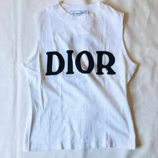 クリスチャンディオール(Christian Dior)のChristian Dior ノースリーブ 2001 ロゴ ナンバリング (Tシャツ(半袖/袖なし))