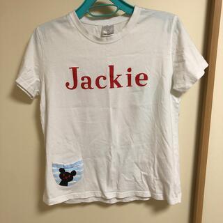 バンダイ(BANDAI)の保育士 Tシャツ ジャッキー Jackie エプロン(Tシャツ(半袖/袖なし))