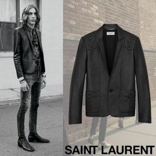 サンローラン(Saint Laurent)のSaint Laurent 2019ss レザージャケット(レザージャケット)