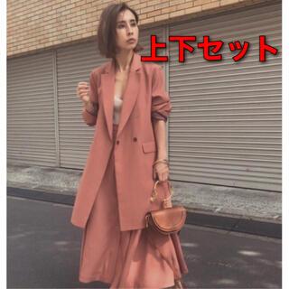 アメリヴィンテージ(Ameri VINTAGE)の【 新品・未使用 】定価3万7000円 ジャケット & スカート(セット/コーデ)