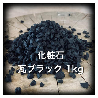 ネイバーフッド(NEIGHBORHOOD)の1kg 化粧石 マルチング デコジャリ ブラック アガベ パキポディウム 16(その他)