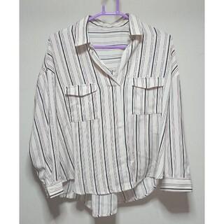 ヴィス(ViS)のVis  ストライプシャツ(シャツ/ブラウス(長袖/七分))