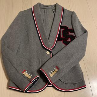 ダブルスタンダードクロージング(DOUBLE STANDARD CLOTHING)のDOUBLE STANDARD CLOTHING☆イニシャルワッペンジャケット(テーラードジャケット)