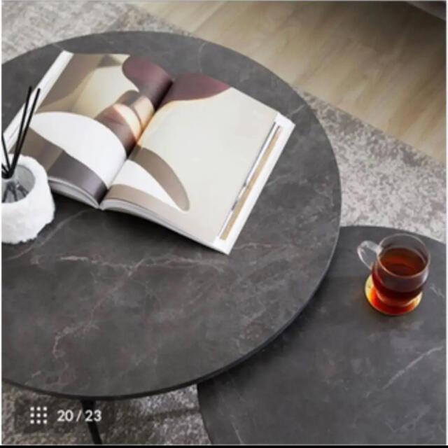 lowya サイドテーブル インテリア/住まい/日用品の机/テーブル(ローテーブル)の商品写真