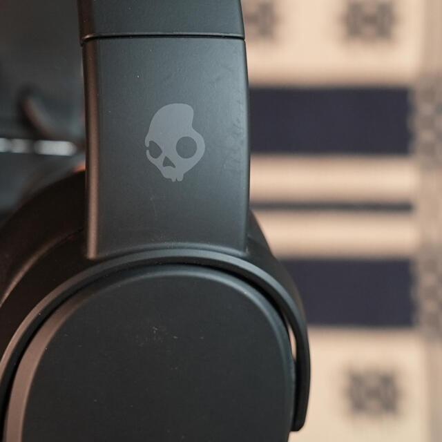 Skullcandy(スカルキャンディ)のscullCandy スカルキャンディ ヘッドフォン BLACK スマホ/家電/カメラのオーディオ機器(ヘッドフォン/イヤフォン)の商品写真
