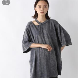 ジーナシス(JEANASIS)の JEANASIS ネックスリットBIGTEE(Tシャツ(半袖/袖なし))