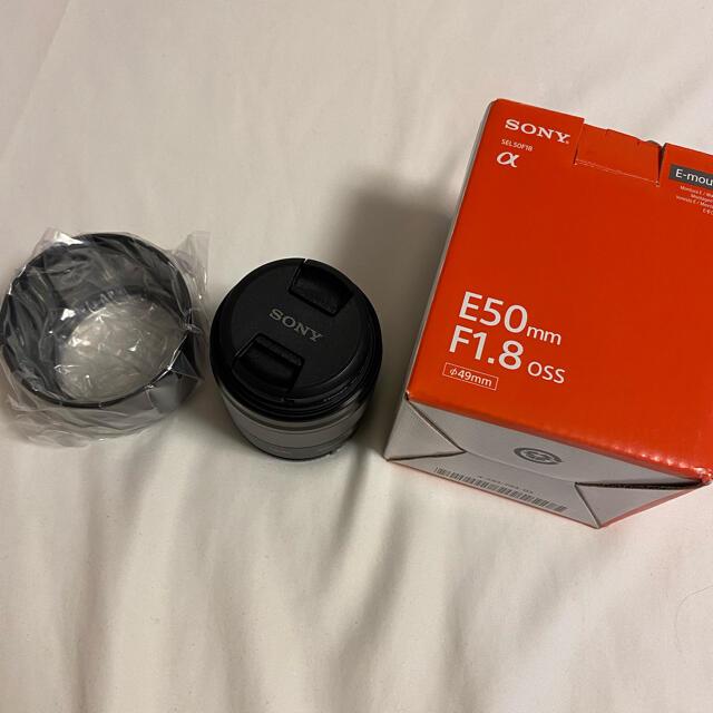 SONY(ソニー)のSONY SEL50F18 レンズ スマホ/家電/カメラのカメラ(レンズ(単焦点))の商品写真