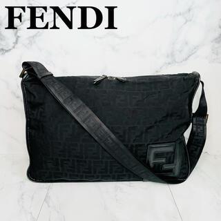 フェンディ(FENDI)の✨極美品✨フェンディ ズッカ柄 ナイロンキャンバス ショルダーバッグ(ショルダーバッグ)