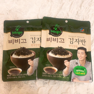 コストコ(コストコ)のbibigo 韓国のりフレーク 2袋(乾物)
