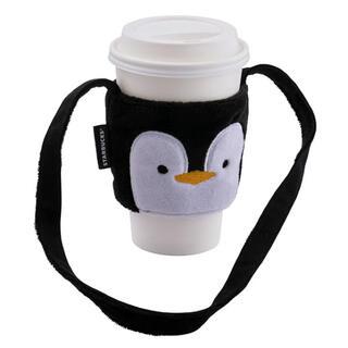 スターバックスコーヒー(Starbucks Coffee)の台湾 スターバックス クリスマス ペンギン ドリンクホルダー 1点(収納/キッチン雑貨)