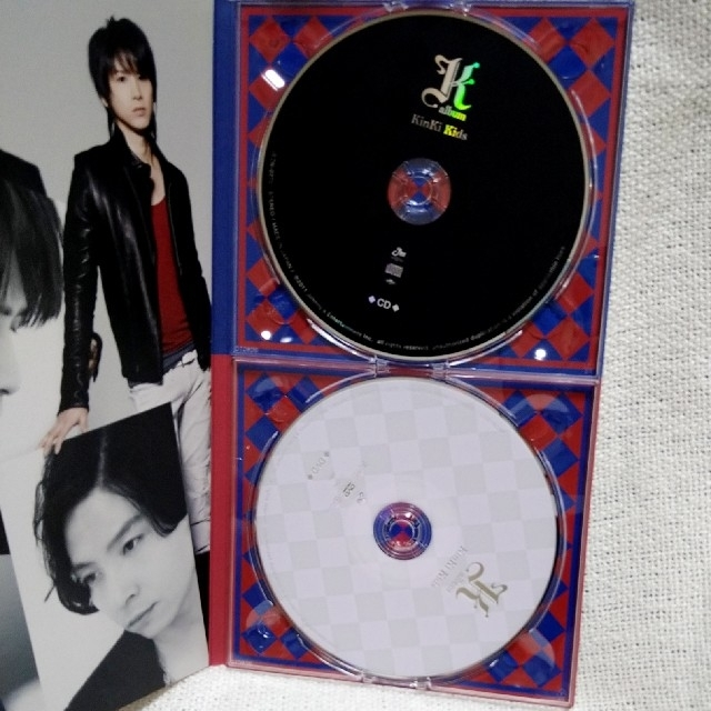 KinKi Kids(キンキキッズ)のKinKi Kids K album エンタメ/ホビーのCD(ポップス/ロック(邦楽))の商品写真