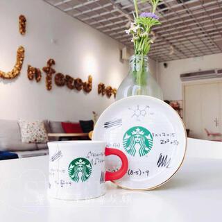 スターバックスコーヒー(Starbucks Coffee)の海外  スターバックス 限定 デミタスカップセット(グラス/カップ)