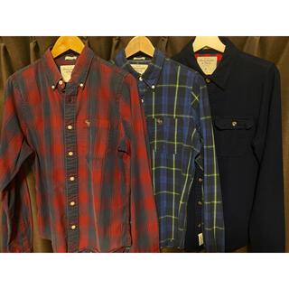 アバクロンビーアンドフィッチ(Abercrombie&Fitch)のアバクロンビー&フィッチ シャツ 3枚セット Mサイズ(シャツ)