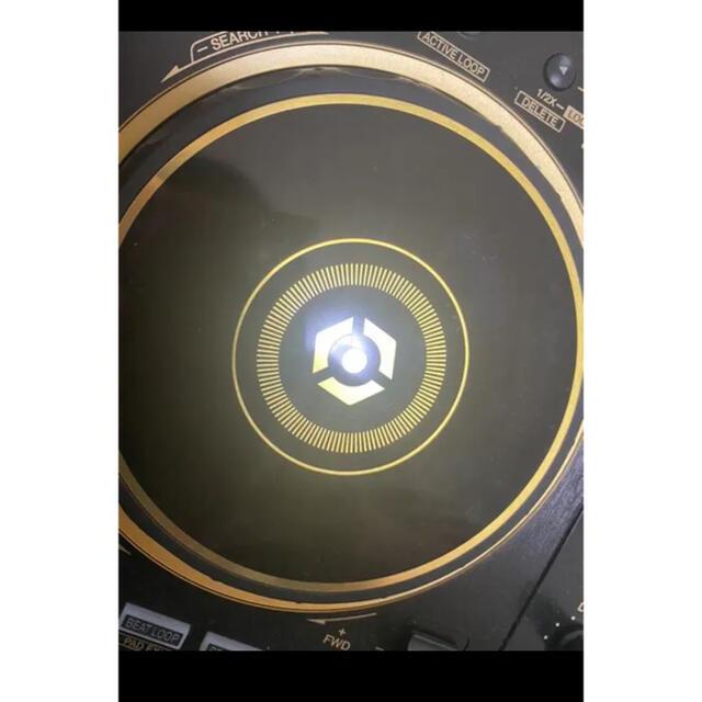 Pioneer(パイオニア)のDDJ 400 ゴールド 美品 ライセンス未使用 ヘッドフォンhdj-cue付き 楽器のDJ機器(DJコントローラー)の商品写真