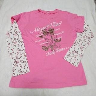 メゾピアノ(mezzo piano)のmezzo piano メゾピアノ Tシャツ 長袖(Tシャツ)