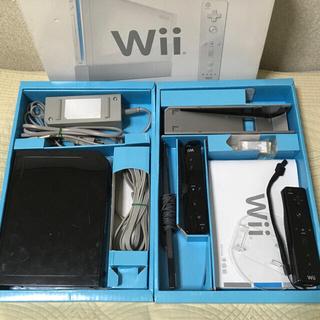 Wii - Wii本体セット 黒 動作確認済み