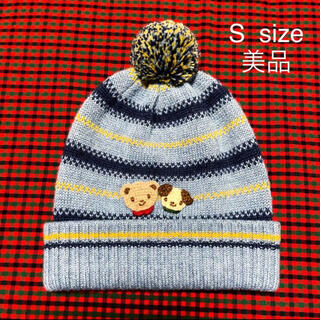 familiar - 【美品】familiar ニット帽 S サイズ ファミリア