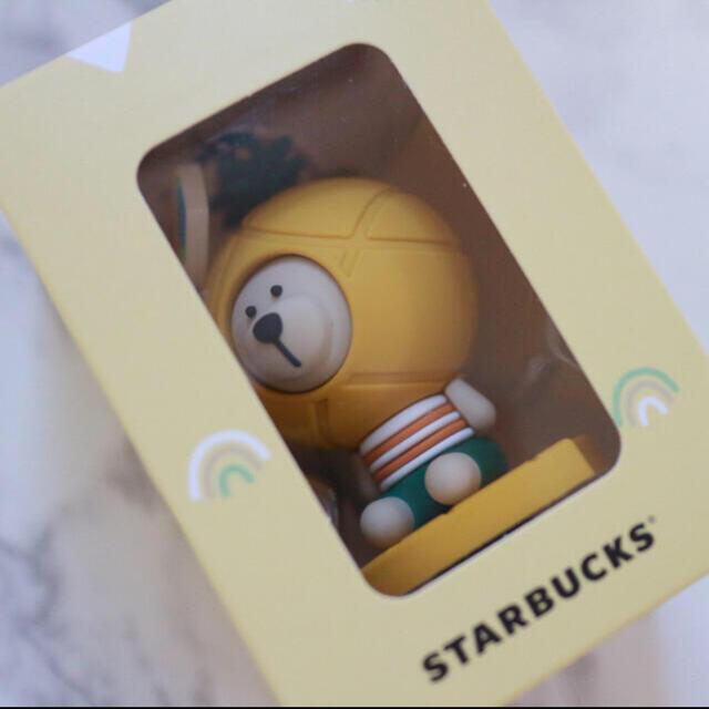 Starbucks Coffee(スターバックスコーヒー)の【新品】台湾スターバックス ベアリスタ キーホルダー ストラップ パイナップル レディースのファッション小物(キーホルダー)の商品写真