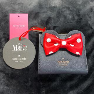 kate spade new york - 新品 Kate spade Disney ディズニー ミニー 財布 折り財布
