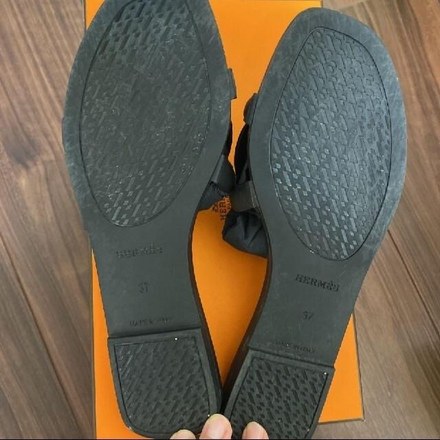 Hermes(エルメス)のHERMES エルメス シェーヌダンクル ラバー サンダル レディースの靴/シューズ(サンダル)の商品写真