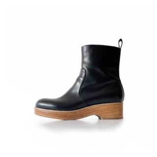 シールームリン(SeaRoomlynn)のWellingtonショートブーツ(ブラック, L) シールームリン(ブーツ)