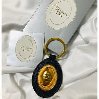 ディオール(Dior)の未使用箱付き クリスチャンディオール  CDボタン キーリング(キーホルダー)