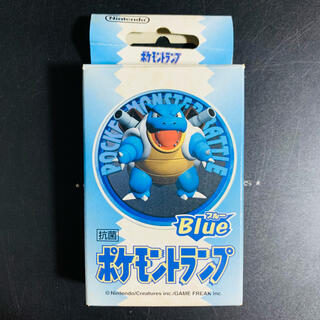 ニンテンドウ(任天堂)の144【絶版】任天堂 ポケモントランプ Blue カメックス❗(トランプ/UNO)