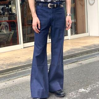 JOHN LAWRENCE SULLIVAN - vintage U.S NAVY フレアパンツ ブーツカット ベルボトム デニム