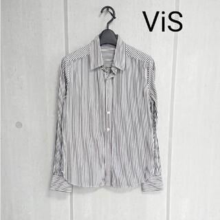 ヴィス(ViS)のViS ヴィス ストライプシャツ(シャツ/ブラウス(長袖/七分))