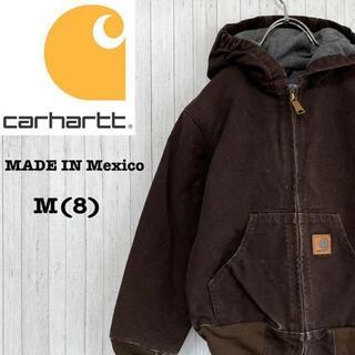 カーハート メキシコ製 ダックジャケット アクティブパーカー M(8)