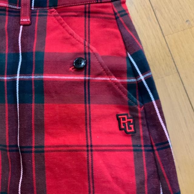 PEARLY GATES(パーリーゲイツ)のパーリーゲイツ レディーススカート バイザーセット スポーツ/アウトドアのゴルフ(ウエア)の商品写真