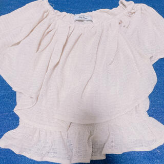リリーブラウン(Lily Brown)のリリーブラウン オフショル(シャツ/ブラウス(半袖/袖なし))