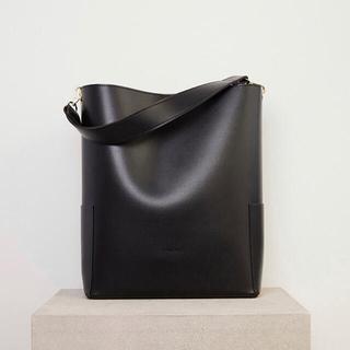 スナイデル(snidel)のRANDEBOO Bucket bag ブラック(ハンドバッグ)