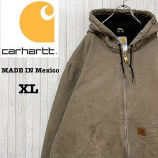 カーハート(carhartt)のカーハート メキシコ製 ダックジャケット アクティブパーカー ビッグサイズ XL(ブルゾン)