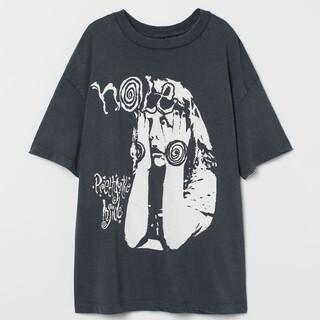 エイチアンドエム(H&M)のH&M✕HoleオーバーサイズバンドTシャツ(Tシャツ/カットソー(半袖/袖なし))