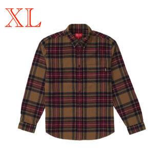 Supreme - XL supreme 19fw tartan flannel shirt