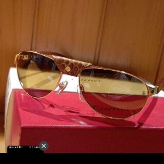 カルティエ(Cartier)の新品 未使用 サングラス(サングラス/メガネ)