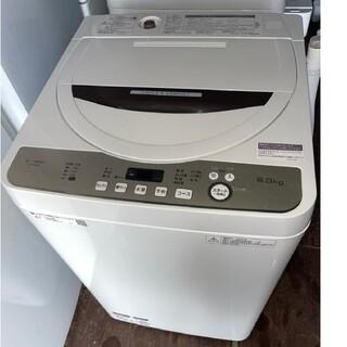 SHARP - SHARP 6キロ洗濯機 💍2020年製💍ブラウン系