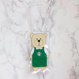 Starbucks Coffee - 【新品】台湾スターバックス ドリンクバッグ タンブラーバッグ ベアリスタ 透明