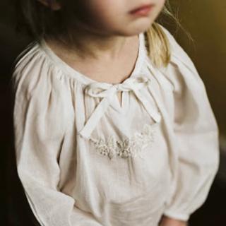 Caramel baby&child  - little cotton clothes 刺繍ブラウス