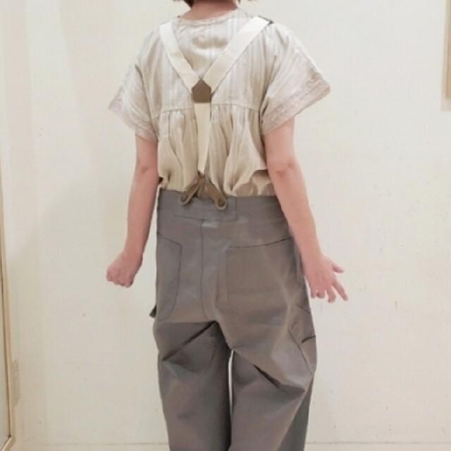 SM2(サマンサモスモス)のSamansa Mos2☆サマンサモスモス☆カラーツイルサロペットパンツ レディースのパンツ(サロペット/オーバーオール)の商品写真