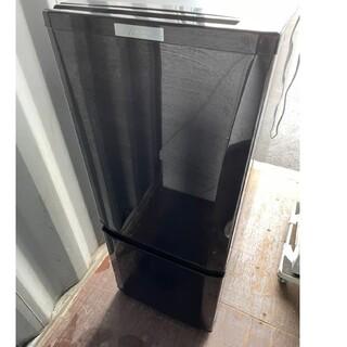 ミツビシデンキ(三菱電機)の三菱電機 2ドア冷蔵庫146L 💍2018年製💍サファイアブラック(冷蔵庫)