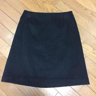 エムプルミエ(M-premier)のエムプル M-PREMIER ウールスカート(ひざ丈スカート)