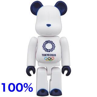 メディコムトイ(MEDICOM TOY)のベアブリック 100% 東京オリンピックエンブレム(その他)