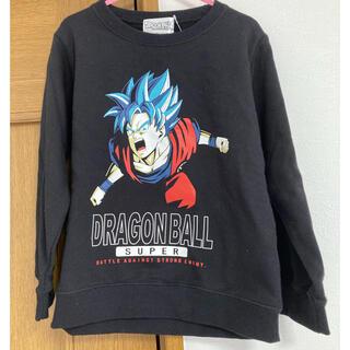 ドラゴンボール(ドラゴンボール)の新品 トレーナー ドラゴンボールスーパー 孫悟空 黒色 110サイズ 男の子(Tシャツ/カットソー)